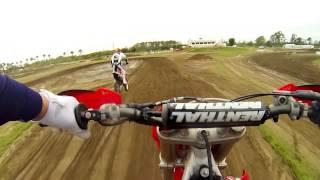 getlinkyoutube.com-Dirt Bike crash GoPro Hero3 Chest Mount