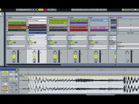 Ableton Warping - moving multiple warp markers