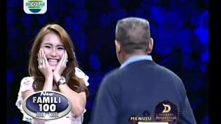 getlinkyoutube.com-Ayu Ting Ting Menang Hadiah Utama 10 Juta!! - New Famili 100