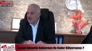 Duayen Sosyal Güvenlik Uzmanı Ali Tezel Uşak'ta!