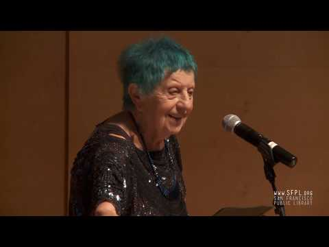ruth weiss at the San Francisco Public Library