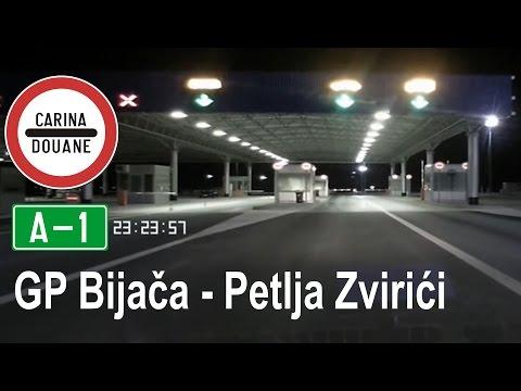 BiH: [A1] Granični prijelaz Bijača - petlja Zvirići