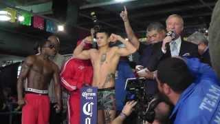 getlinkyoutube.com-Heated Marcos Maidana vs. Adrien Broner Weigh in and face off Full HD