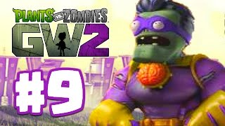getlinkyoutube.com-SUPER BRAINZ GOES CRAZY! | Plants Vs Zombies Garden Warfare 2 | Garden Warfare 2 BETA Part 9