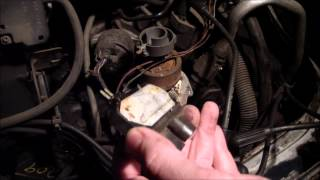 how to replace icm ignition control module on gmc safari astro rh youtube com