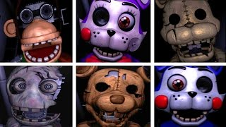 getlinkyoutube.com-Five Nights at Candy's 2 ALL JUMPSCARES
