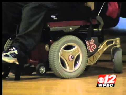 DGF Donates Wheelchair to Homecoming King (WPEC-CBS)