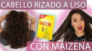 getlinkyoutube.com-CABELLO LISO NATURAL CON MAIZENA *Fabi Ortiz