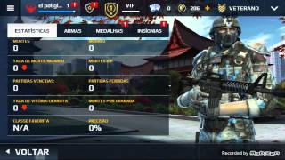 Modern combat 5: Como se tornar VETERANO bug