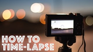 getlinkyoutube.com-How to shoot a Time-lapse video with the Canon G7x Mark ii