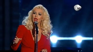 getlinkyoutube.com-Christina Aguilera - Beautiful - 2015 Breakthrough Prize Awards