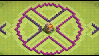Clash of Clans - Circle Of Death (Awesome TH7 Trophy Version) - New 2015 HD