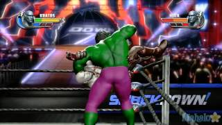getlinkyoutube.com-WWE ศึกมวยปล้ำที่โหดที่สุด Kratos ปะทะ The Hulk