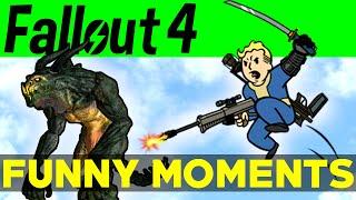 getlinkyoutube.com-Fallout 4 Funny Moments - EP.4 (FO4 Funny Moments, Mods, Fails, Kills, Fallout 4 Funtage)