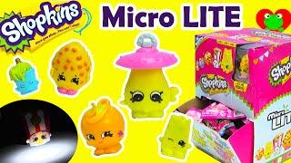 getlinkyoutube.com-Shopkins Micro LITE Blind Bags with Fluffy Baby Dum Mee Mee