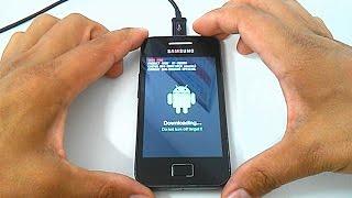 getlinkyoutube.com-Stock Rom Firmware Samsung Galaxy Ace GT-S5830, 5830i, 5830b,  5830c, Como instalar, Atualizar