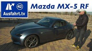 getlinkyoutube.com-2017 Mazda MX-5 RF   Fahrbericht der Probefahrt  Test   Review