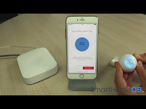 HOW-TO: Unpair and Disconnect your Samsung SmartThings Hub from a Fibaro Motion Sensor