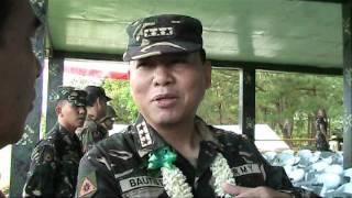 01 25 2012 MGA DISASTER DAPAT NA PAGHANDAAN AYUN KAY ARMY CHIEF LTGEN EMMANUEL BAUTISTA