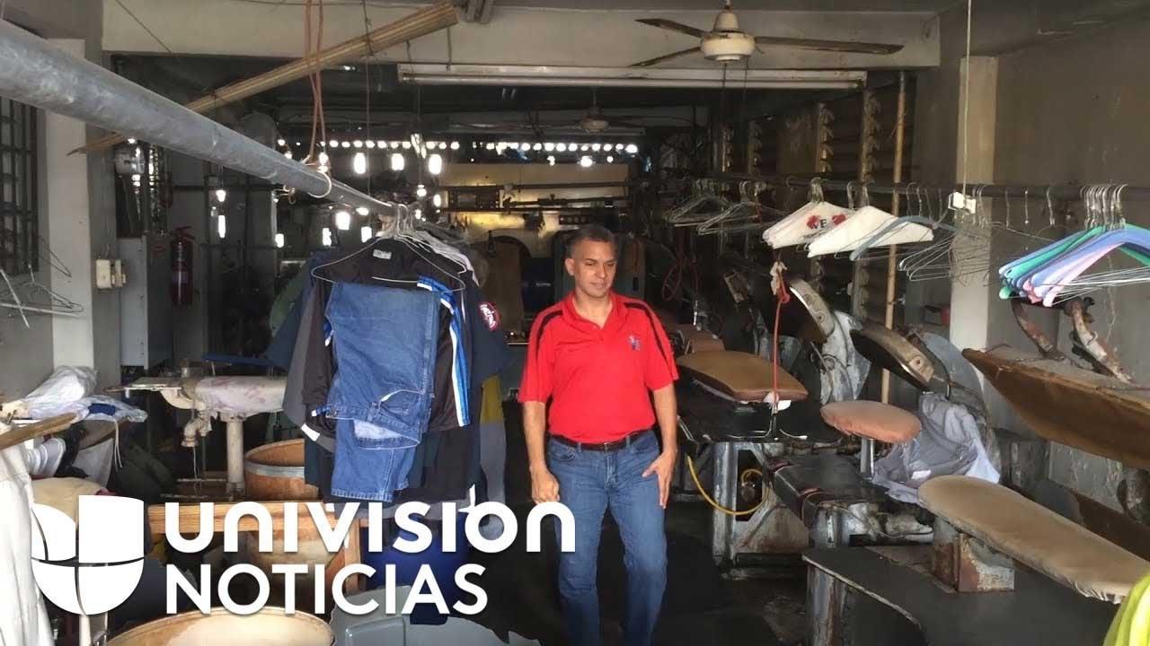 El nuevo día a día de los habitantes de Puerto Rico tras el huracán María
