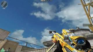 Cross Fire China || Barrett M82A1-Iron Shark Noble Gold [GamePlay]!