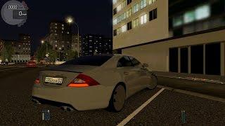 getlinkyoutube.com-City Car Driving 1.5.3 Mercedes CLS 500 Tuning NIGHT [G27]