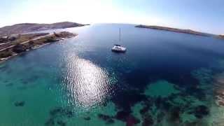 Kea drone shows island beauty