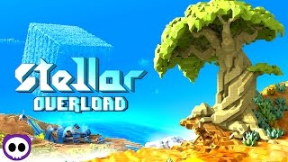 getlinkyoutube.com-BEST VOXEL GAME TO DATE!? ✪ Stellar Overload Early Access Gameplay | Scythe Plays