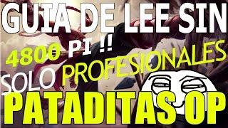 Guía de Lee Sin Solo Para Profesionales