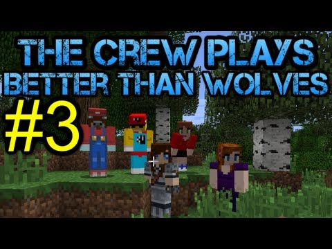 Minecraft - Better Than Wolves Let's Play - Episode 3
