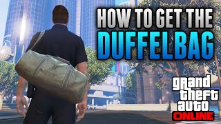 GTA 5 Online - How To Get The RARE Heist DUFFELBAG Online! (GTA 5 Glitches)