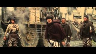 getlinkyoutube.com-Attack on Titan Part 2 - END OF THE WORLD - Trailer HD 2015