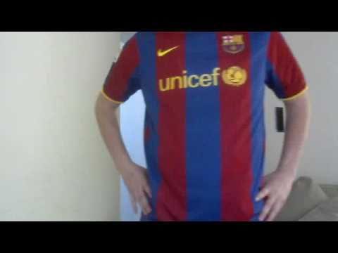 2010 david  villa barcelona jersey review