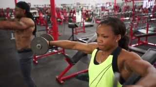 getlinkyoutube.com-Morgan Canty and DJ Durant take a different approach to shoulder training.