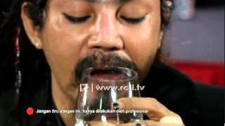 Master Limbat Makan Paku,Cabe dan Gelas   Masterpiece Celebration