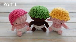 getlinkyoutube.com-How to Crochet my Amigurumi Baby - Pt 1