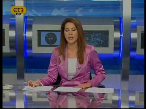 Όλγα Ψαρίδου στην ΕΤ3 - Κυριακή 18 Οκτωβρίου 2009