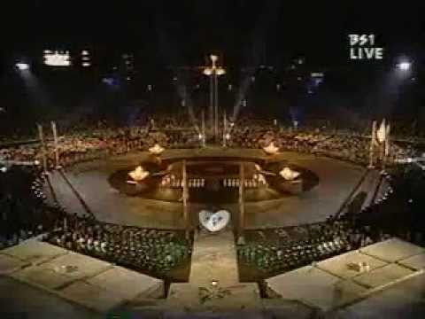 Nagano 1998 Closing Ceremony - Handover to Salt Lake City 2002