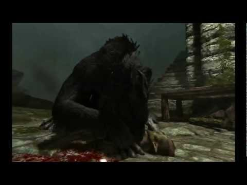 Skyrim Realistic Werewolves mod - FERAL WEREWOLF SOUNDS