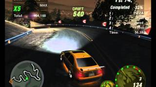 Need For Speed UG 2 VW Bora Drift
