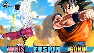 getlinkyoutube.com-Goku and Whis Fusion VS Vegeta and Beerus (Bills) Fusion - Ultimate God Battle Dragon Ball Super