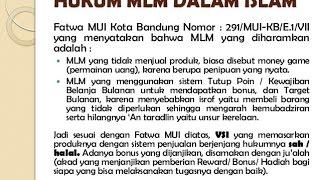 getlinkyoutube.com-MLM menurut Ustadz Yusuf Mansur