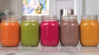 5 NEW Healthy Smoothie Recipes