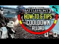 Star Wars Battlefront 3 Gameplay Tips & Tricks - Cooldown System, Instant Cooldown How to Beta