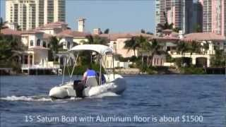 16 Foot Saturn Xhd 487 Inflatable Boat
