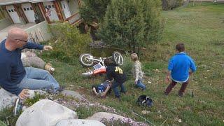 getlinkyoutube.com-MOMMY CRASHED A DIRT BIKE ON MOTHER'S DAY