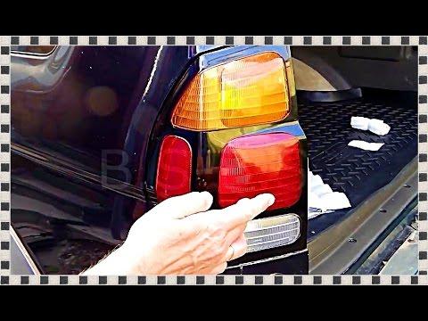 КАК ЗАМЕНИТЬ ЛАМПЫ задего фонаря на... Replacement lamps, Mitsubishi Pajero Sport