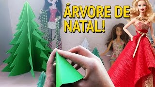 getlinkyoutube.com-Como fazer Árvore de Natal para bonecas Barbie, Monster High, EAH etc