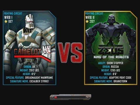 Real Steel Wrb Camelot Vs ZeusReal Steel Camelot