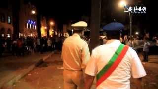 Hespress.com: Policiers Vs Chômeurs